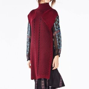 Bcbg elliana turtle neck sweater